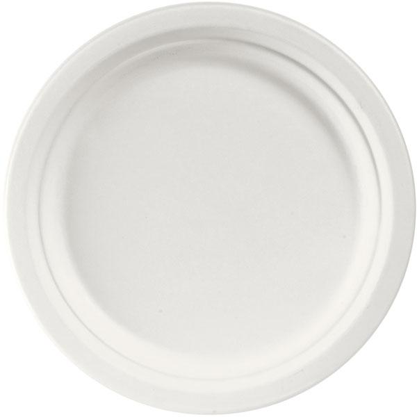 Duni ecoecho® Bagasse-Teller, Weiß online kaufen - Verwendung 1