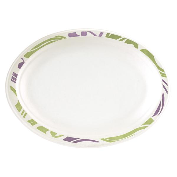 Chinet Teller oval 26 x 19 cm