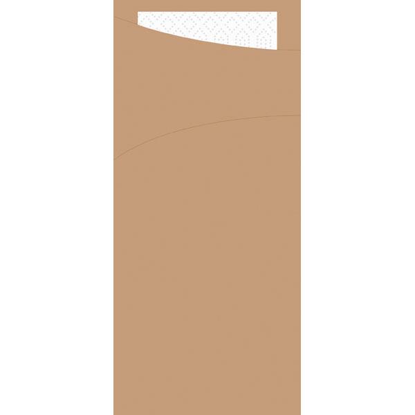 Duni Sacchetto Bestecktasche eco-brown