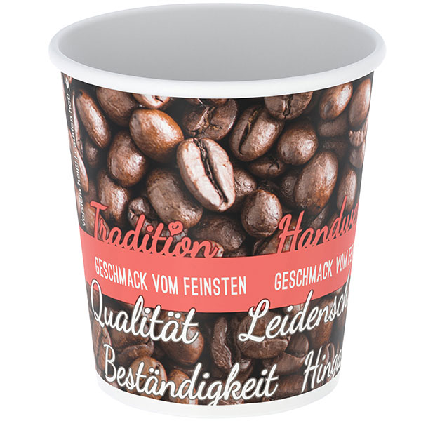 Coffee-Cup einwandig, 100 ml