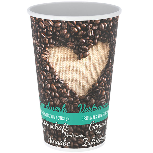 Coffee-Cup einwandig 250 ml