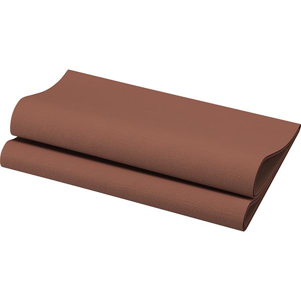 Duni Dunisoft-Servietten 40 x 40 cm chestnut