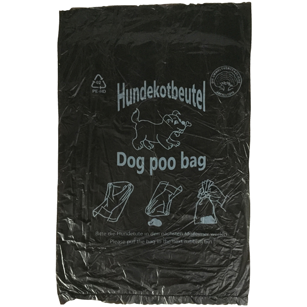 Hundekotbeutel schwarz