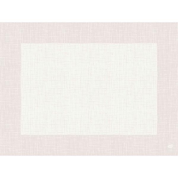 Duni Tischset 30 x 40 cm linnea-weiß