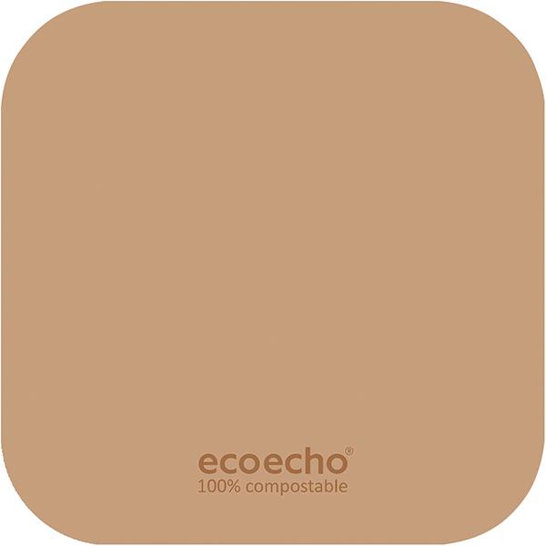 Duni Untersetzer 8,5 x 8,5 cm eckig eco-brown