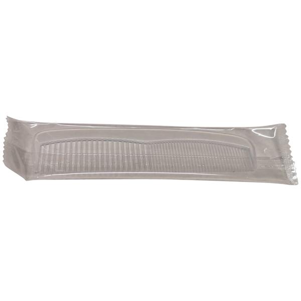 Neutra Kamm Kunststoff 13 cm transparent, einzeln verpackt