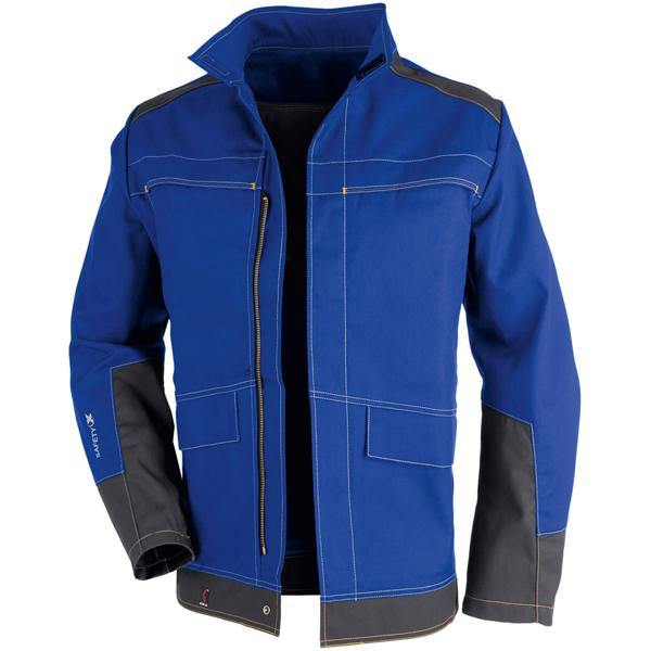 Kübler Jacke Safety X6 kornblumenblau/anthrazit Gr. 98