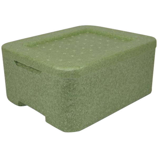 Thermobox Iso-Transportbehälter grün W2