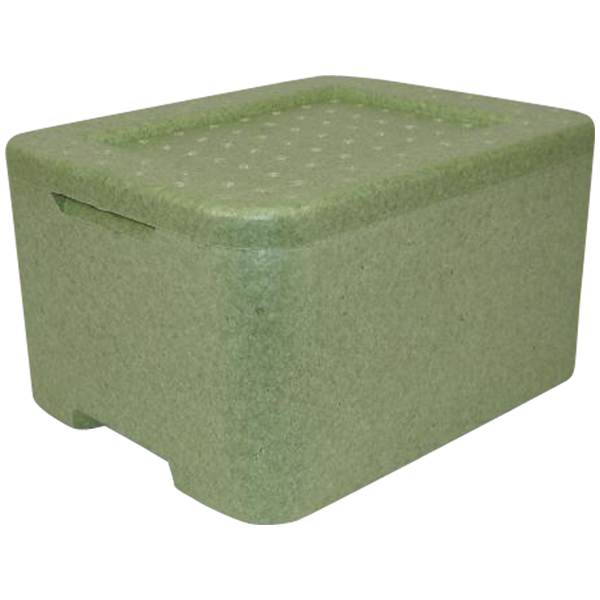 Thermobox Iso-Transportbehälter grün W3