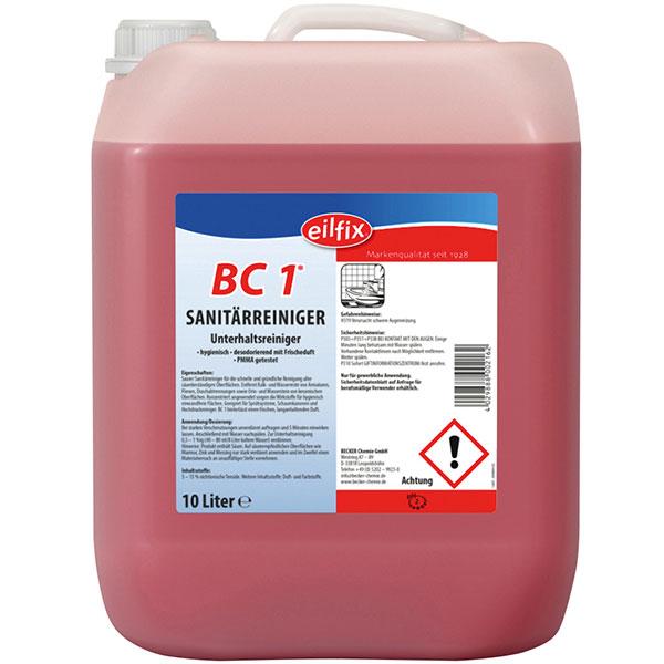 BC1 Sanitärreiniger RK-gelistet