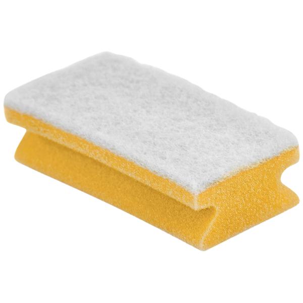 REZI Putzschwamm gelb/weiß